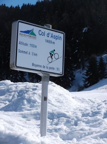Col d'Aspin (vélo + marche) le 13 février 2015 048